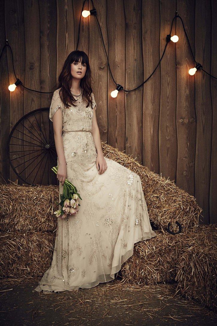 Свадебная коллекция Jenny Packham весна 2017 фото №18