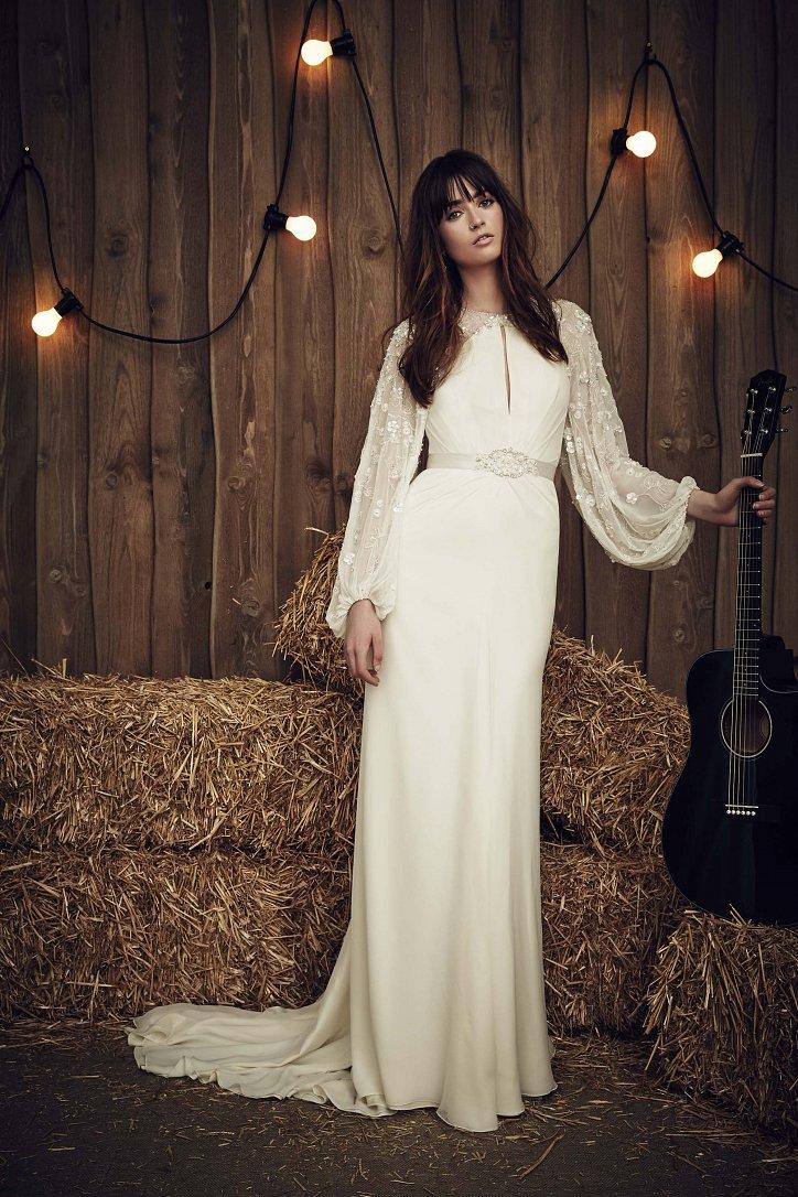 Свадебная коллекция Jenny Packham весна 2017 фото №19