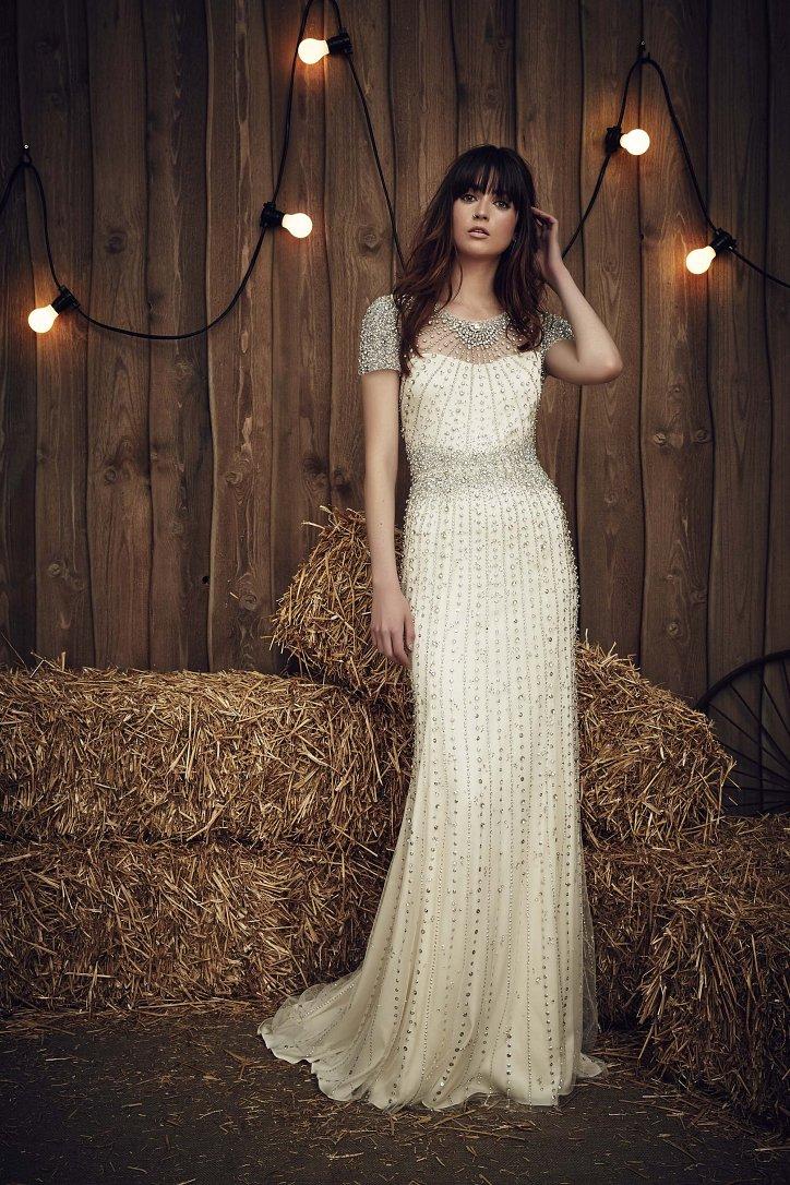 Свадебная коллекция Jenny Packham весна 2017 фото №20