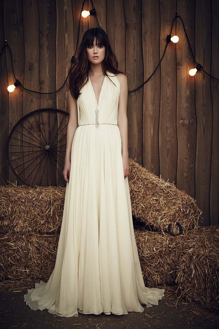 Свадебная коллекция Jenny Packham весна 2017 фото №21