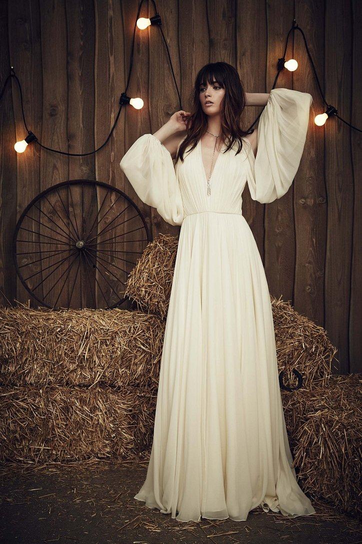 Свадебная коллекция Jenny Packham весна 2017 фото №22