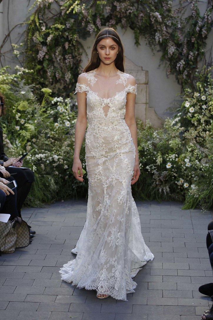 Свадебная коллекция Monique Lhuillier весна 2017 фото №23