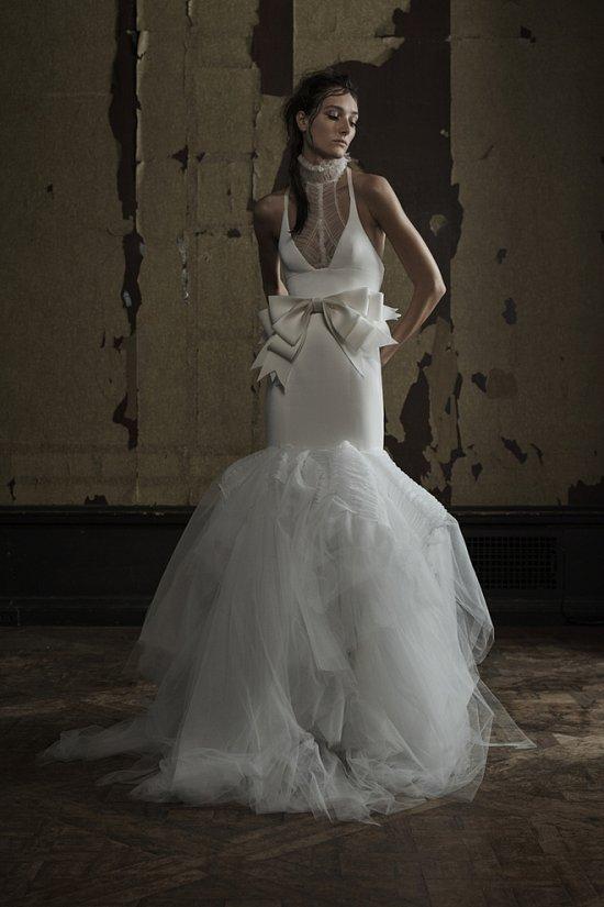 Свадебная коллекция Vera Wang весна 2016