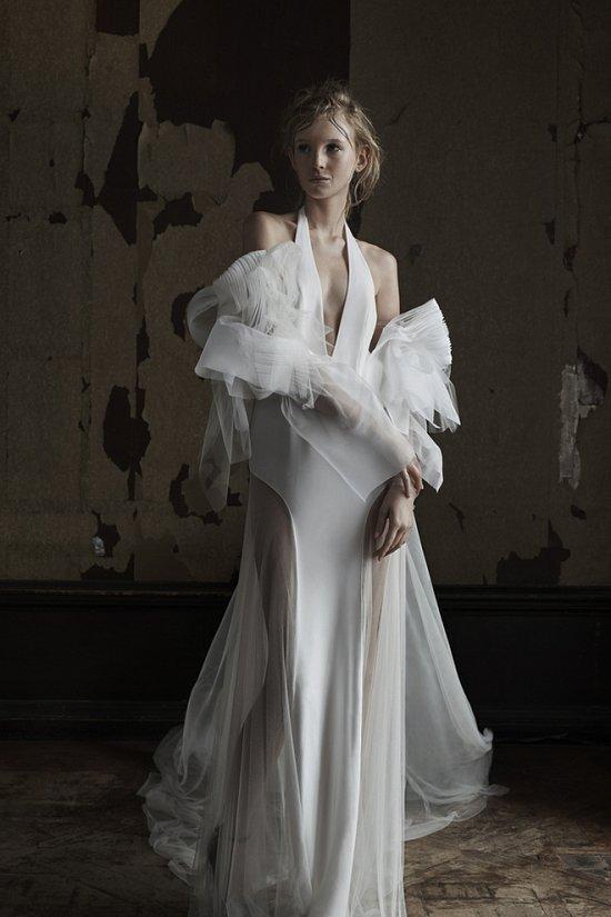 Свадебная коллекция Vera Wang весна 2016 фото №3