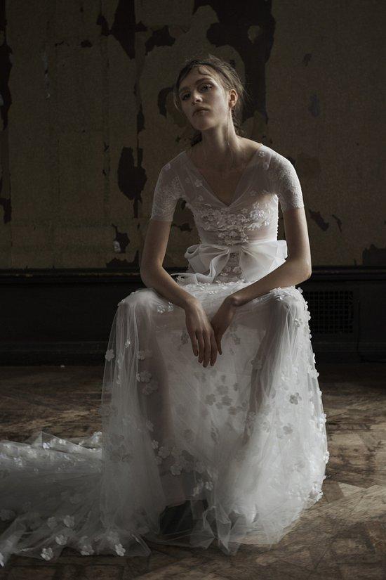 Свадебная коллекция Vera Wang весна 2016 фото №5