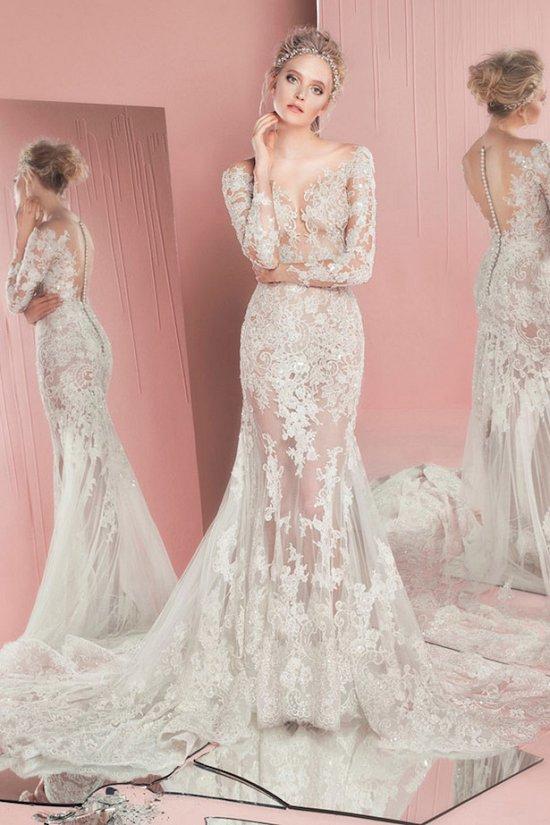 свадебные платья Зухаир Мурад 2016 фото