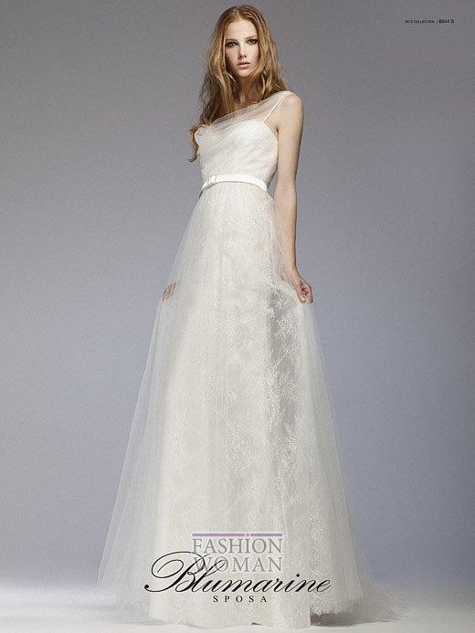 Свадебная мода Blumarine весна-лето 2012 фото №1