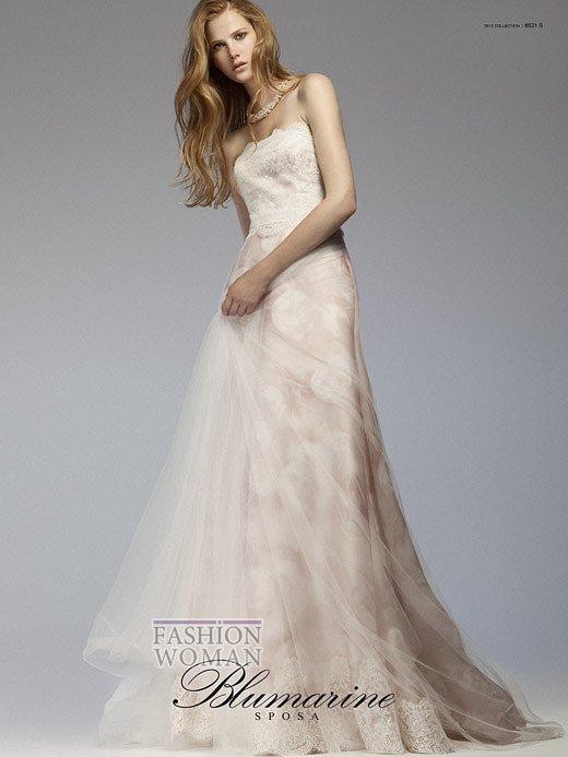 Свадебная мода Blumarine весна-лето 2012 фото №11