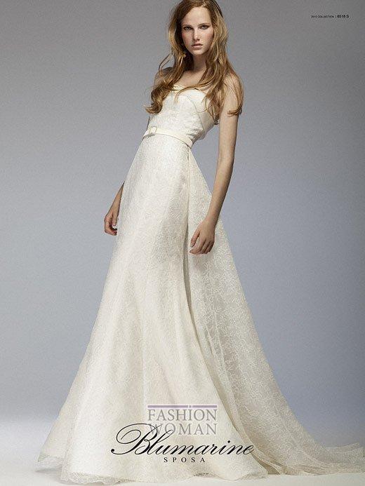 Свадебная мода Blumarine весна-лето 2012 фото №12