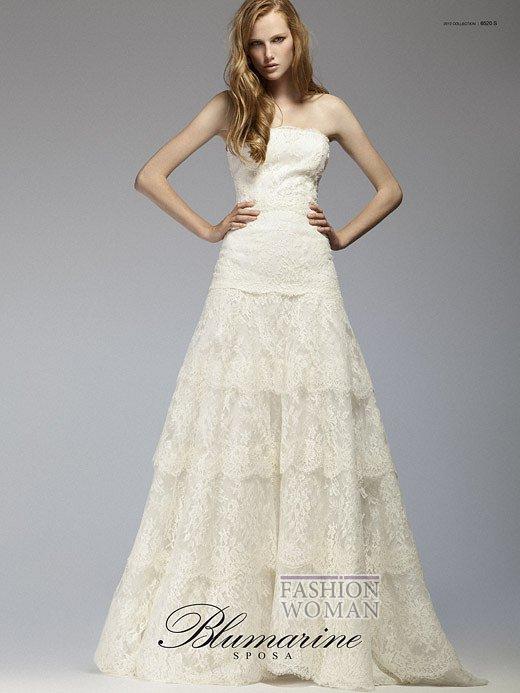 Свадебная мода Blumarine весна-лето 2012 фото №13