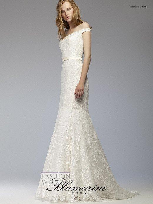 Свадебная мода Blumarine весна-лето 2012 фото №14