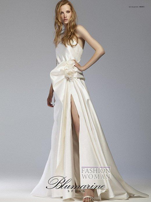 Свадебная мода Blumarine весна-лето 2012 фото №15