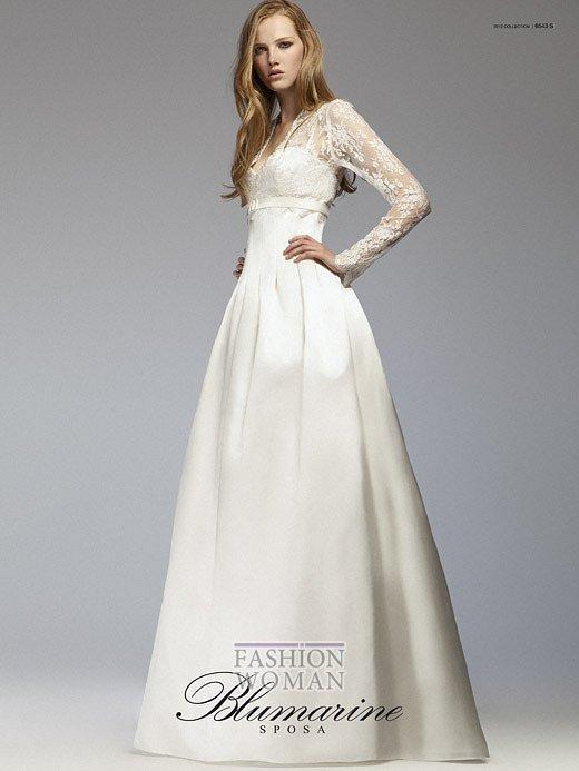 Свадебная мода Blumarine весна-лето 2012 фото №16