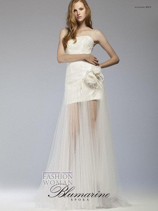 Свадебная мода Blumarine весна-лето 2012 фото №17