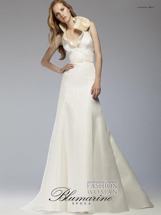 Свадебная мода Blumarine весна-лето 2012 фото №18