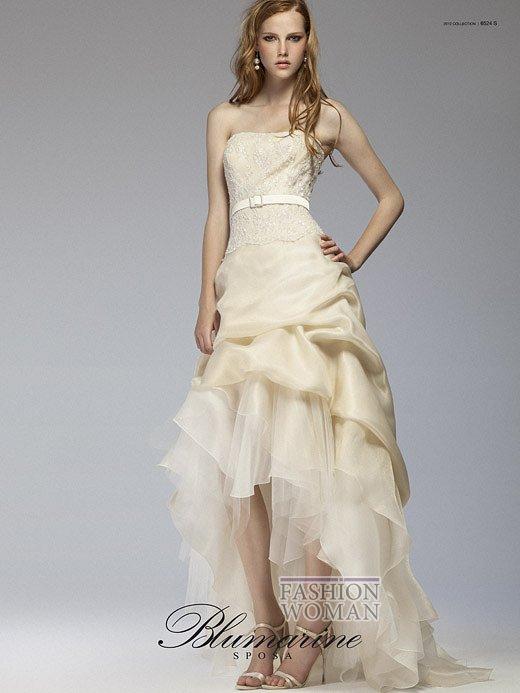 Свадебная мода Blumarine весна-лето 2012 фото №20