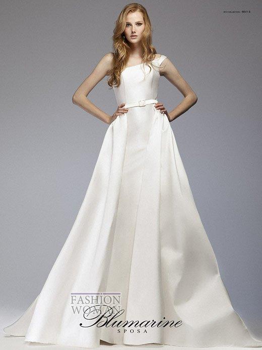 Свадебная мода Blumarine весна-лето 2012 фото №3