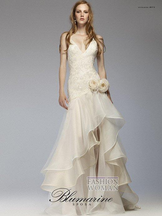 Свадебная мода Blumarine весна-лето 2012 фото №21