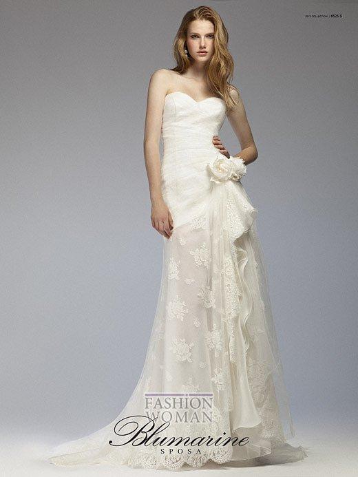 Свадебная мода Blumarine весна-лето 2012 фото №22