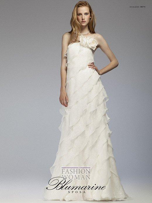 Свадебная мода Blumarine весна-лето 2012 фото №23