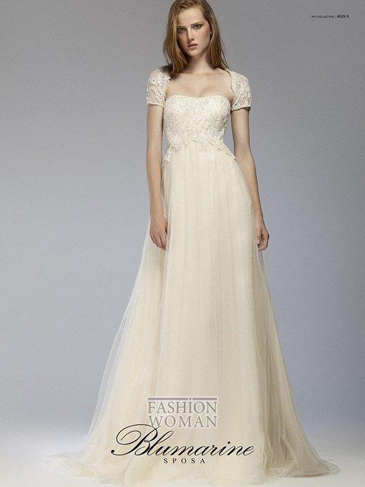 Свадебная мода Blumarine весна-лето 2012 фото №24