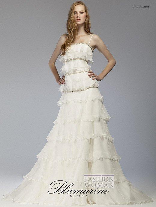 Свадебная мода Blumarine весна-лето 2012 фото №25