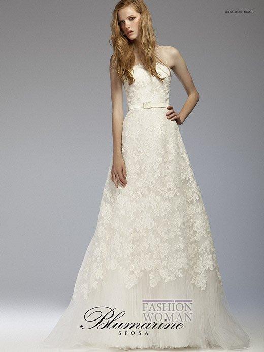 Свадебная мода Blumarine весна-лето 2012 фото №26
