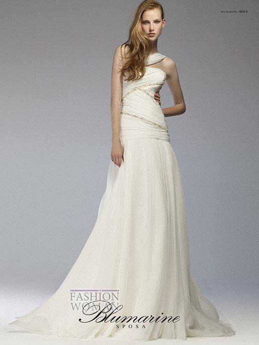 Свадебная мода Blumarine весна-лето 2012 фото №27