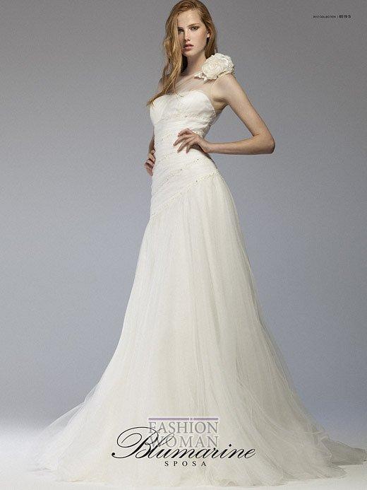 Свадебная мода Blumarine весна-лето 2012 фото №28
