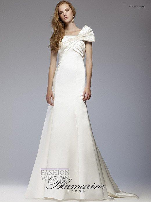 Свадебная мода Blumarine весна-лето 2012 фото №4