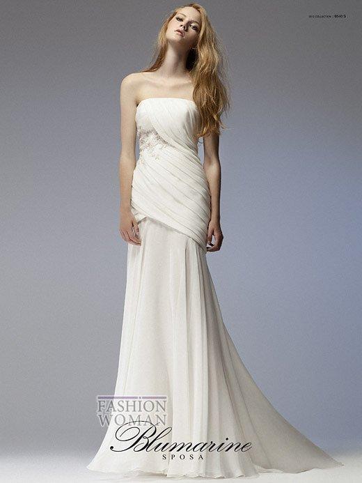 Свадебная мода Blumarine весна-лето 2012 фото №5