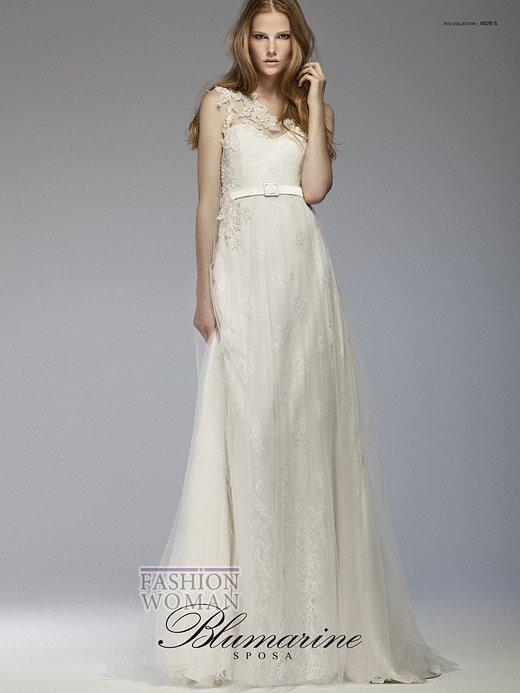 Свадебная мода Blumarine весна-лето 2012 фото №6