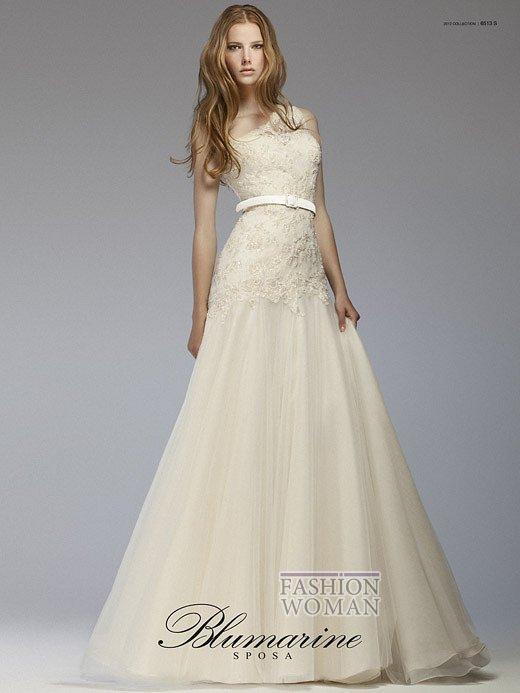 Свадебная мода Blumarine весна-лето 2012 фото №7