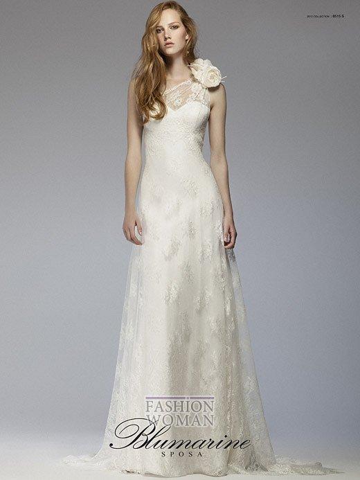 Свадебная мода Blumarine весна-лето 2012 фото №8