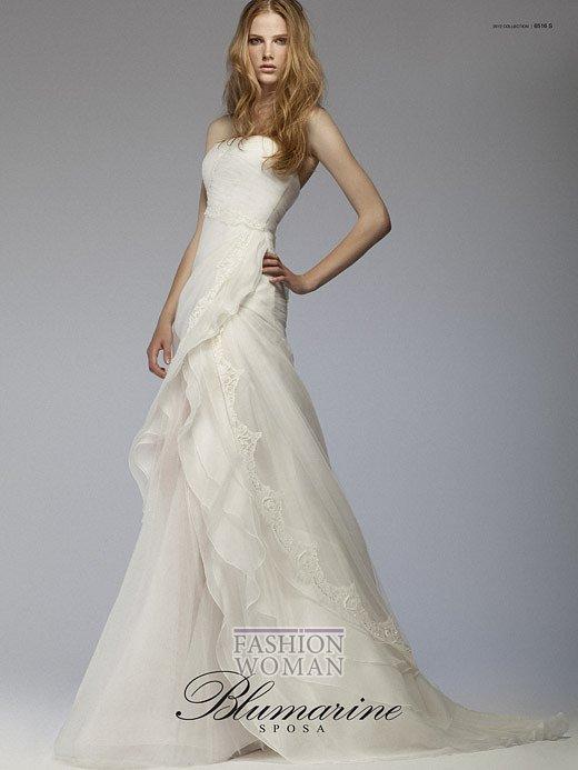 Свадебная мода Blumarine весна-лето 2012 фото №9