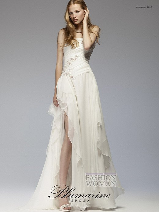 Свадебная мода Blumarine весна-лето 2012 фото №10