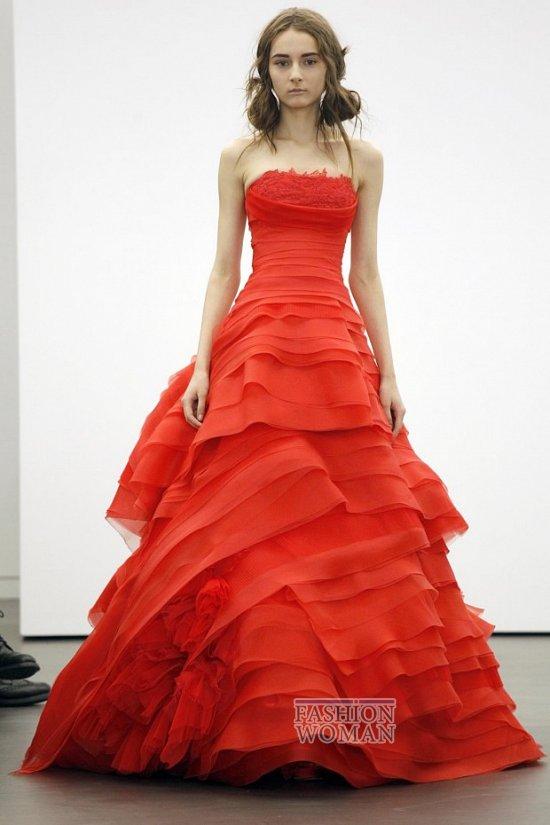 Свадебная мода весна-лето 2013 от Vera Wang фото №14