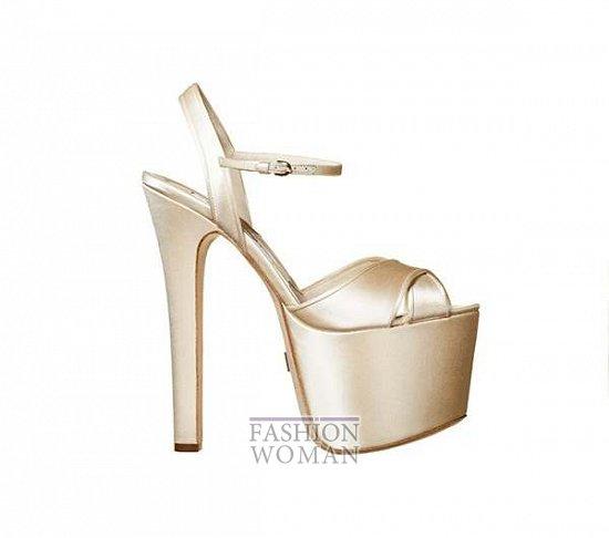 Свадебная обувь от Brian Atwood  фото №13