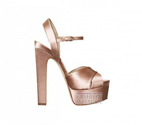 Свадебная обувь от Brian Atwood  фото №14