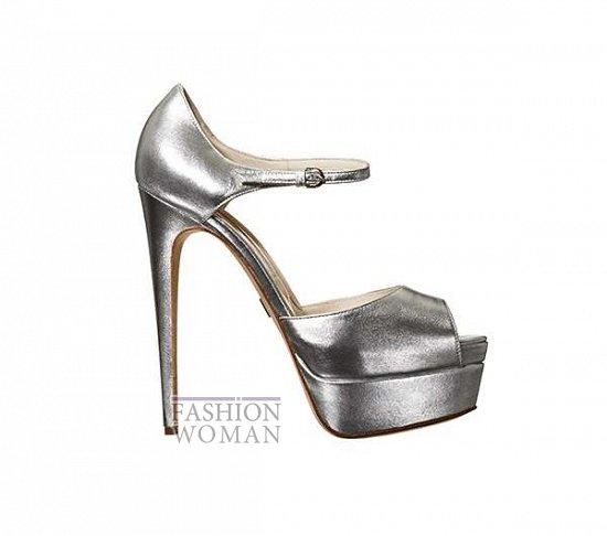 Свадебная обувь от Brian Atwood  фото №10