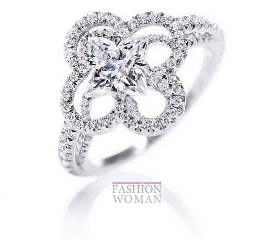 Свадебные ювелирные украшения от Louis Vuitton фото №5