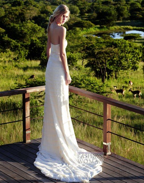 Свадебные платья 2012 от Amanda Wakeley фото №2