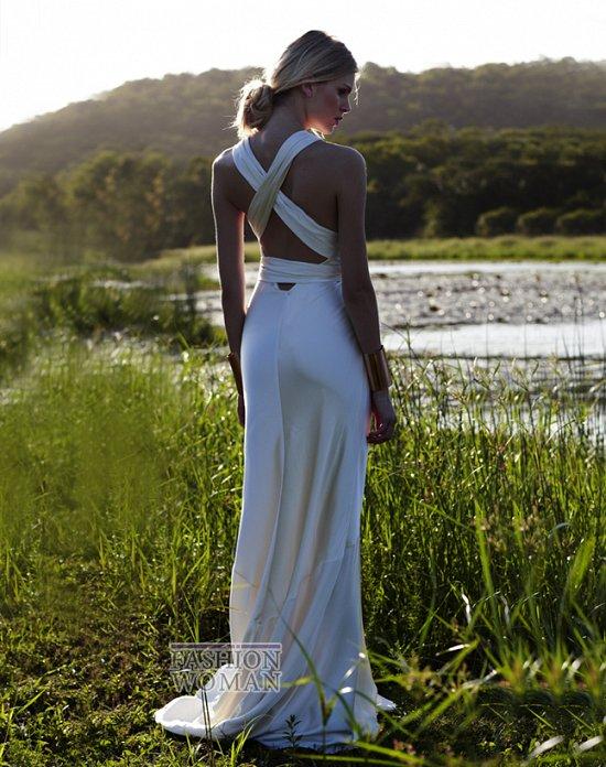 Свадебные платья 2012 от Amanda Wakeley фото №11