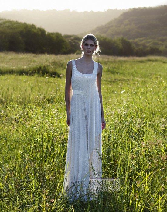 Свадебные платья 2012 от Amanda Wakeley фото №12