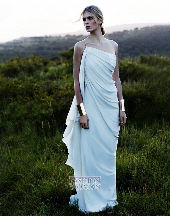 Свадебные платья 2012 от Amanda Wakeley фото №13
