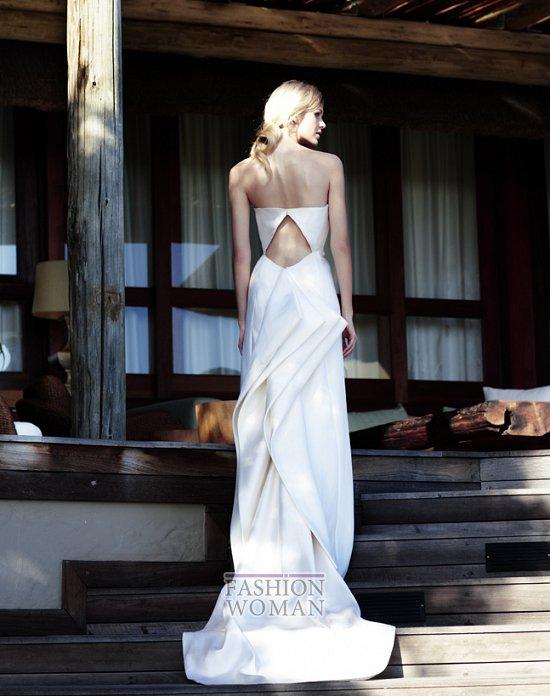 Свадебные платья 2012 от Amanda Wakeley фото №3