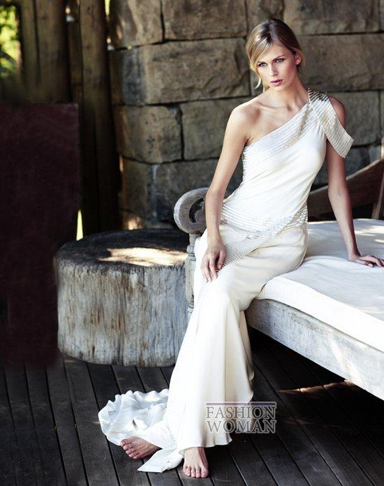 Свадебные платья 2012 от Amanda Wakeley фото №4