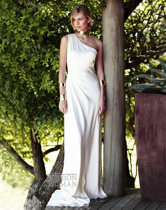 Свадебные платья 2012 от Amanda Wakeley фото №5