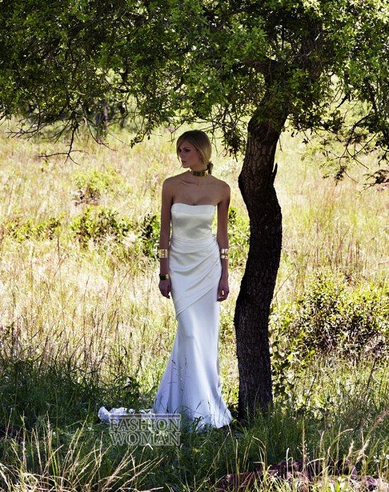 Свадебные платья 2012 от Amanda Wakeley фото №6
