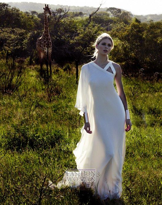 Свадебные платья 2012 от Amanda Wakeley фото №10
